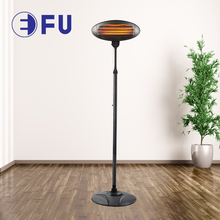 CE GS approved 2000W waterproof IP34 electric outdoor patio heater
