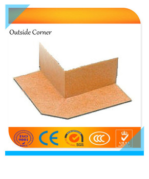ASTM 0.6mm waterproofing corner seals for tiled shower, steam shower and bathtub surrounds Weifang
