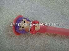charming beauty polymer clay ballpoint pen