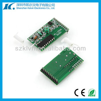 6 Channel Fixed Code 433mhz RF Wireless Receiver Module (KL-YK06)