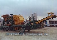 Mobile BUILDING WASTE CRUSHER