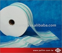 2-Layer Breathable Cloth Like / Textile (Partial Lamination) For Baby Or Adult Use Diaper