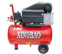 2HP 24L 8 Bar Piston Type portable painting air compressor