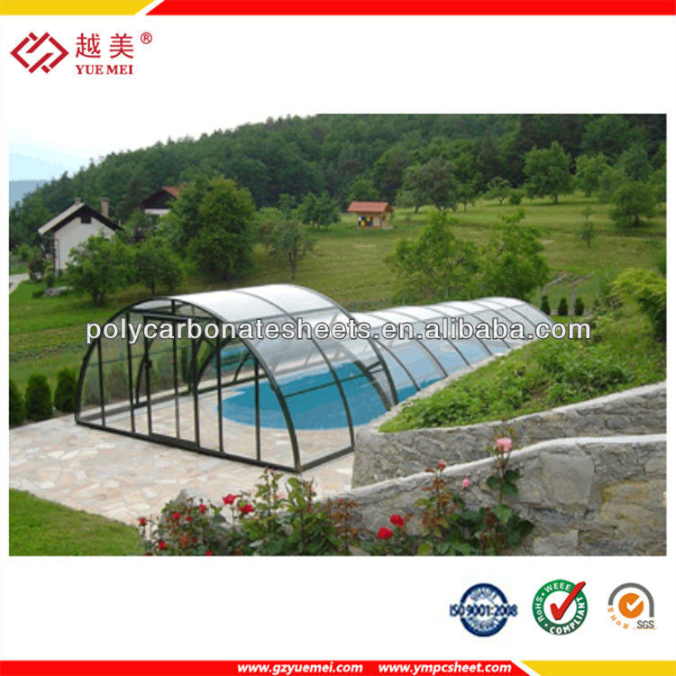 plicarbonatos de tendas polycarbonate plastic sheet for swimming pool