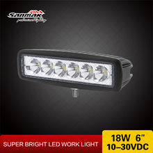 Truck Accessories- Cree 18w LED Offroad Light ATV 4x4 Work Lights 6inch LED 18w Working Light LED