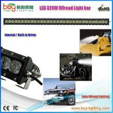 "single row 320w 40"" led offroad light bar led light bar one row 320w"