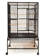 Factory directly high quality big bird cage canary strong metal parrot breeding bird cages