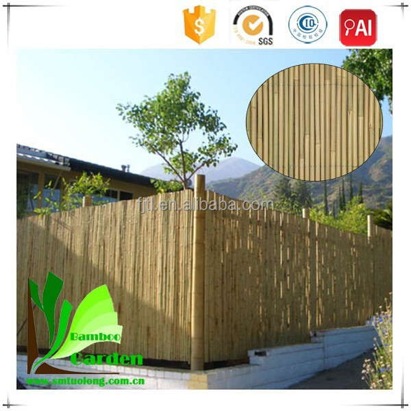 Bamboo Post&Rail Fence
