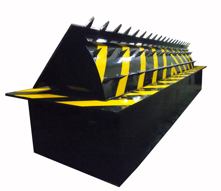 High Security Rising Kerb Road Blocker For Perimeter Protection