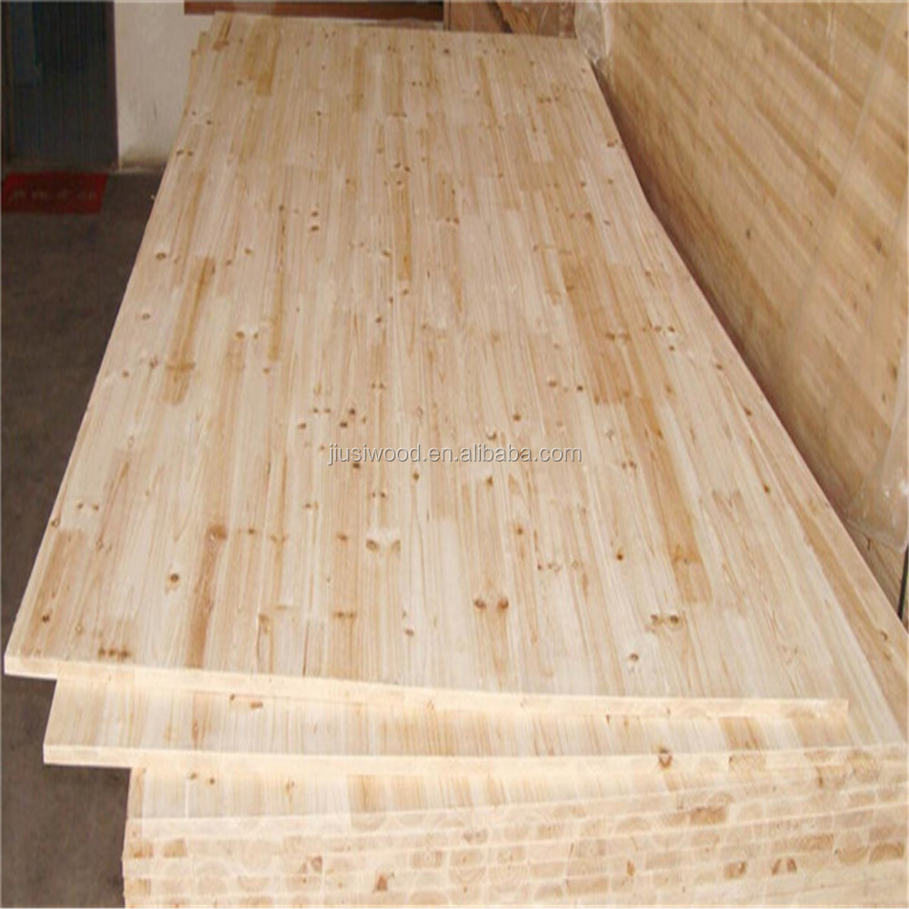The best price of Finger jointed laminated timber board/panel wood