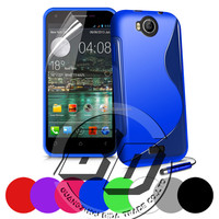 New Arrival Universal S Line soft TPU gel case For Wiko Cink peax 1/2 gel case best price