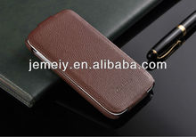 Genuine leather flip ultra thin case cover for Samsung Galaxy s4 i9500