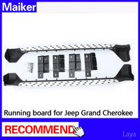 running board for Jeep Grand Cherokee auto parts side step suv 4*4