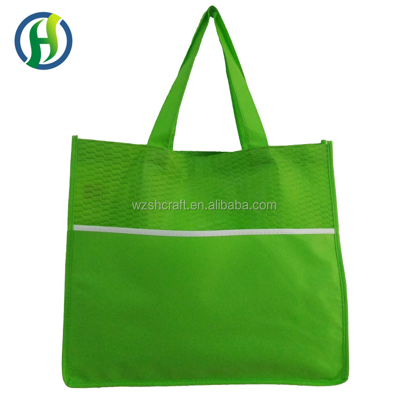 2017 Promotional cheapest customized durable nonwoven bag for shopping