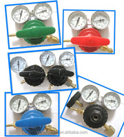 Yamato type O2 oxygen argon CO2 LPG N2 high gas pressure regulator with gauge for welding