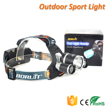 Boruit RJ-5000 6000 Lumens High Power Rechargeable Camping Headlamp