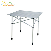 Most popular aluminum folding table and chair for outdoor use