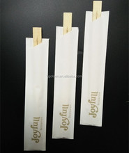 high quality paper envelope disposable bamboo chopsticks with custom Printed sleeve