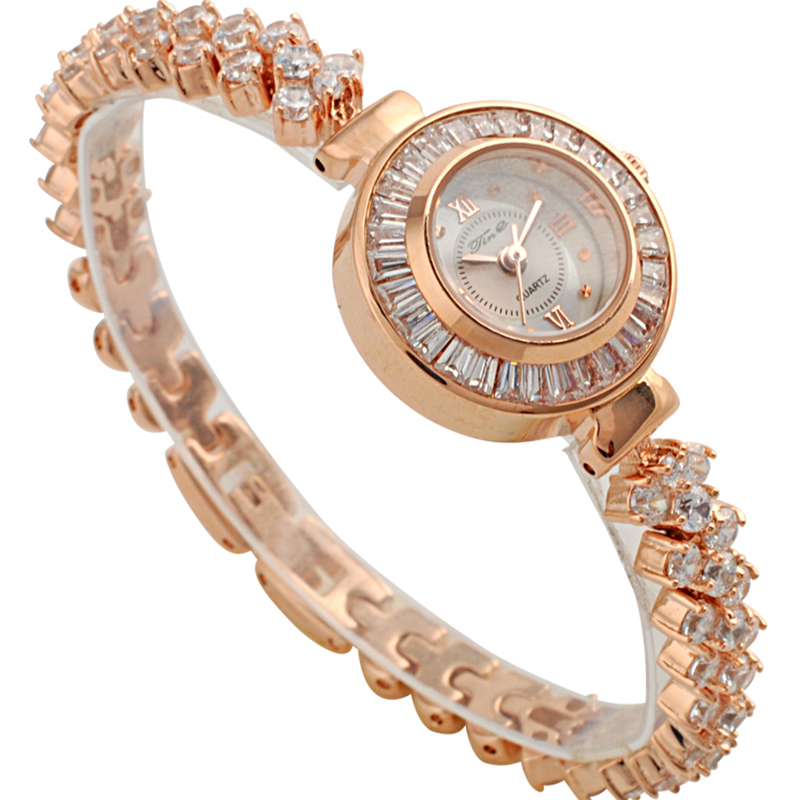 New fashionable jewelry watch, Women Sexy Watch rose gold Bracelet Watch for girls