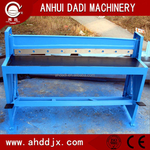 Q11 foot operated shear machine manual cutting plate sheet