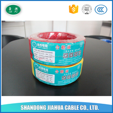 Red Colour 2.5mm Size Factory Sales Electrical Wires