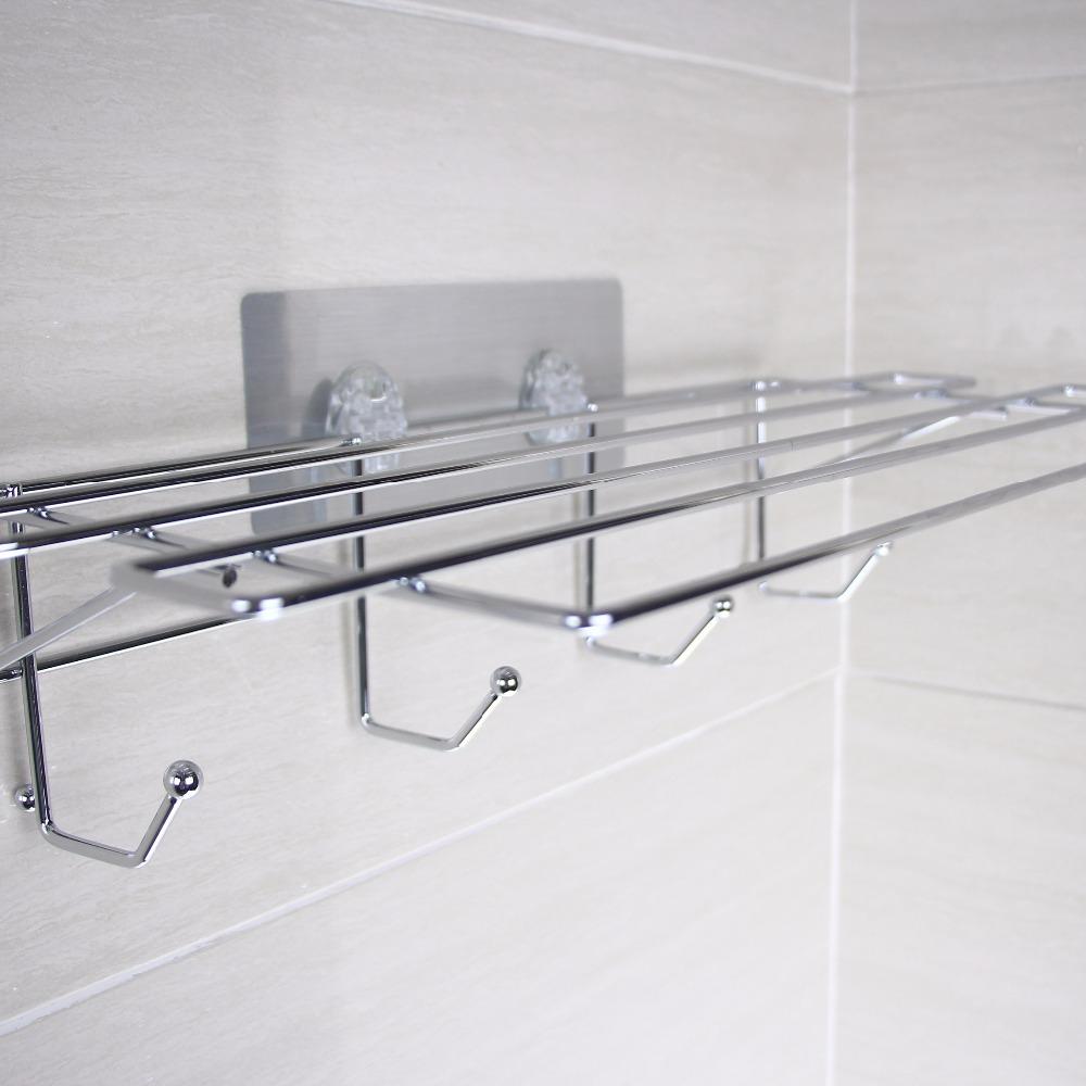 High Quality Stainless Steel Bathroom Accessories Towel Rack In ...