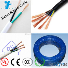 High quality H05RNH2-F 4 cores rubber power cable flat cable H05RN-F Rubber cable