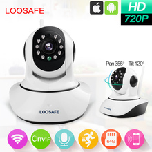 720P HD WiFi Pan/Tilt IP Camera 1.0 Megapixel Indoor Wireless Security Camera
