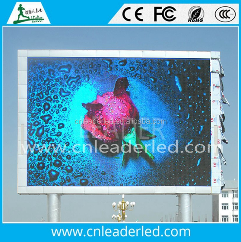 Asynchronous Full Color P10 Outdoor Advertising LED Display, Electronic Information Board