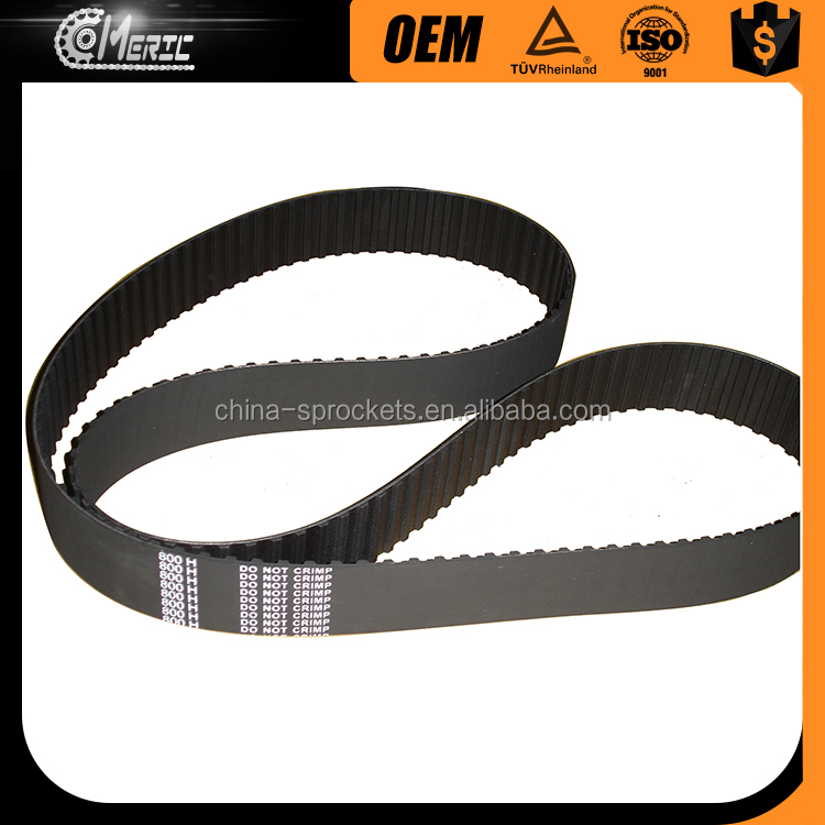 2017 best selling SHAOXING MERIC Low oise and Heat Resist Seamless HTD timing belts