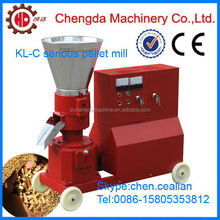 roller moving pine sawdust shavings pellet machine with CE