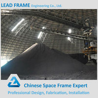 Prevent Dust Light Steel Prefab Dome House for Outdoor Coal Yard