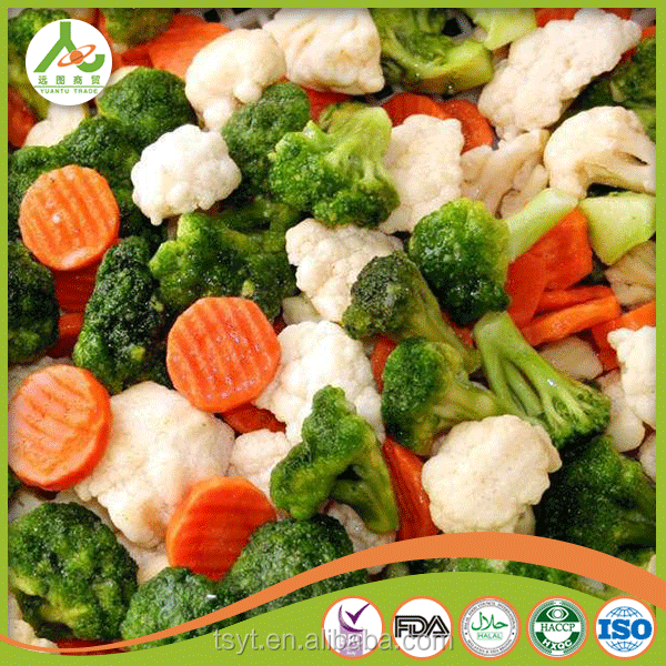 manufacture Green Peas Carrot Sweet Corn cut bean private label best quality iqf frozen mixed vegetables vegetable