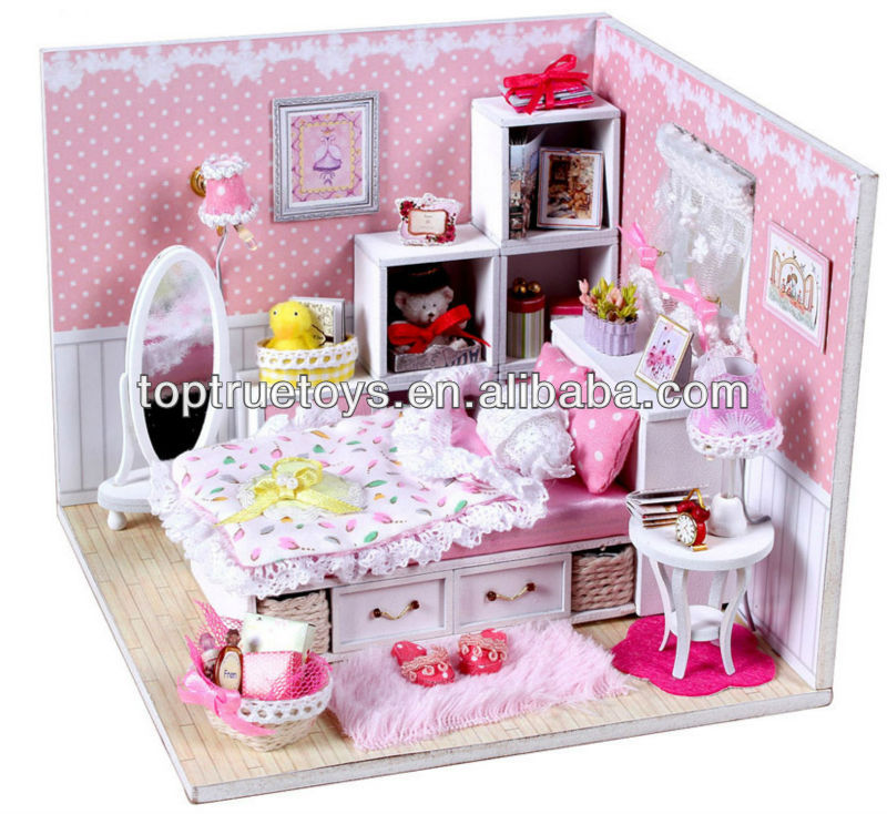 Diy Wooden Doll Bedroom Angel Dream Buy Diy Bedroom Toys Set Wooden Bedroom  Set Diy Bedroom