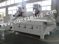 High Quality!!Two heads cnc wood router 1825 wood lathe
