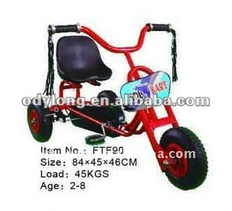 New design 3 wheel bike,children pedal go kart,baby tricycle with CE certification FTF90
