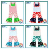 2016Kids Summer Outfits Wholesale baby girls clothing sets New cotton children Gorgeous outfit ,wholesale baby clothing fashion