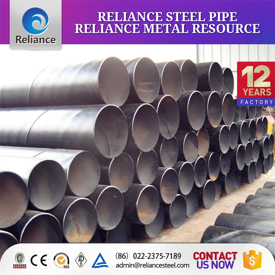 Petrochemical Industry SSAW Spiral Weld Steel Pipe