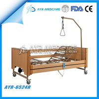 AYR-6524R Electric Home Care Wooden Nursing Bed