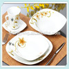 wholesale China supplier factory direct ,fine procelain square dinner set, China dinnerware