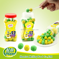 fruity tennis ball bubble gum wholesale