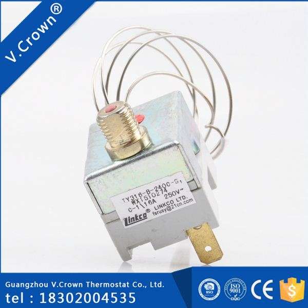 new products high quality High Precision cheap manufacturing automatic bi-metal defrost thermostat
