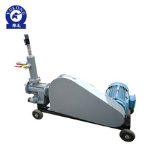 Centrifugal highway use plunger type cement grout pump