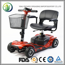 Rehabilitation Equipment Light Weight Electrical Scooter Mobility Scooter Electric Walker with Front LED Light