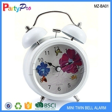 Good Quality Wholesale Alibaba Mini Alarm Clock Twin Bell Alarm Clock