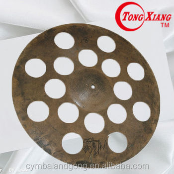 special effect perforated cymbal 18 ride