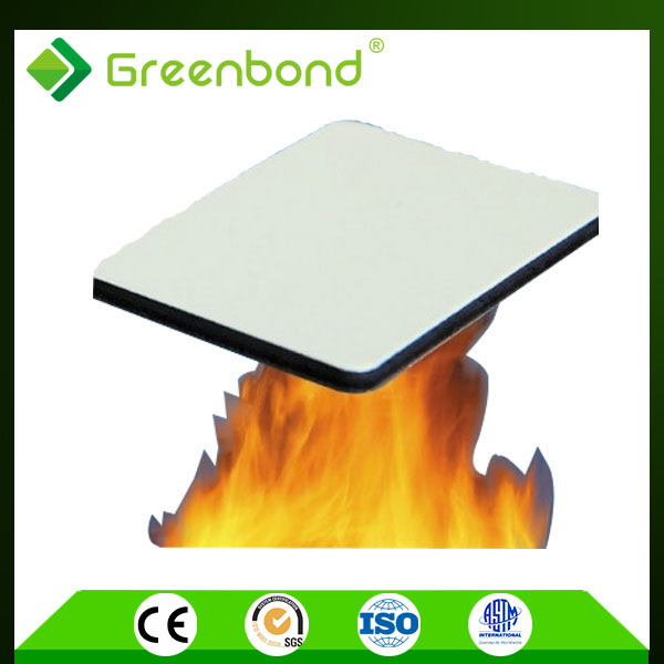 Greenbond 4mm thickness fire-resistant exterior wall acp panels best seller