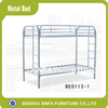 Modern popular metal frame bunk bed school furniture