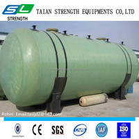 Fiber glass and carbon steel double wall underground fuel tanks for gas station from China manufacturer