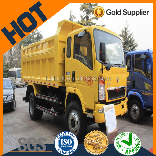 brand new 4*2 Euro 4 diesel tipper trucks